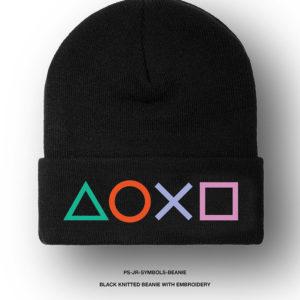 PlayStation Mütze mit Controller Buttons